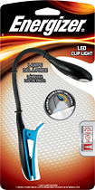Energizer - LED Clip Light - Black/Blue