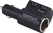 TomTom - High-Speed Multicharger for Most USB Devices - Black
