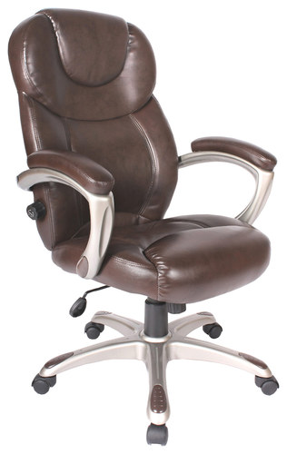 Comfort Products Inc. - Granton Leather Executive Chair - Mocha Brown