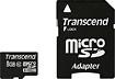 Transcend - 8 GB microSD High Capacity (microSDHC) - 1 Card