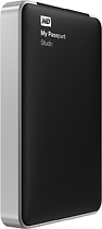 WD - My Passport Studio 1TB External FireWire and USB 20 Portable Hard Drive - Black