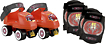 Bravo Sports - Disney Cars Junior Roller Skates and Pads Pack (Size 6-12)