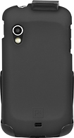 Platinum Series - Case with Holster for Samsung Stratosphere Mobile Phones - Black