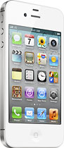 Apple - iPhone 4S with 16GB Memory Mobile Phone - White (Sprint)