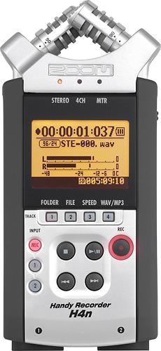 Zoom - H4n Handy Recorder - Silver
