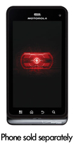 Xentris Wireless - Case for Motorola DROID 3 Mobile Phones - Black