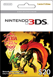 Nintendo The Legend of Zelda 25th Anniversary 20 Cash Card for Nintendo 3DS