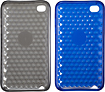 Dynex - Diamond Gel Cases for 4th-Generation Apple iPod touch (2-Pack)