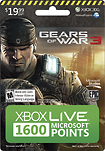 Gears of War - Gears of War 3: 1600 Microsoft Points Card for Xbox LIVE