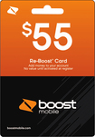 Boost Mobile - $55 Top-Up Card