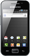 Samsung - Galaxy Ace Mobile Phone (Unlocked) - Black