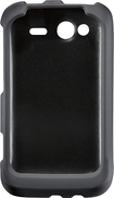 Rocketfish Mobile - Hard Shell Case for HTC Wildfire Mobile Phones - Black