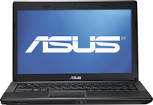 Asus X44L-BBK4 14 inch 4GB LED Laptop Computer with 2.2Ghz Intel Core i3 Processor, 500GB HDD, Webcam, Face Recognition