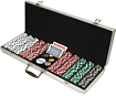 Trademark Global - 500-Piece 115-Gram Poker Chips