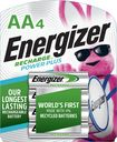 Buy Energizer NiMH Rechargeable Batteries AA (4-Pack)