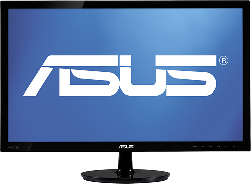 Asus - 23.6 Widescreen LED Monitor - Black