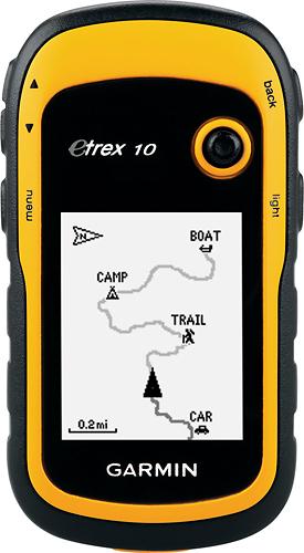 Garmin - eTrex 10 GPS - Yellow