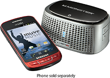 Mobile Phone w/Bluetooth Speaker