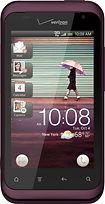 HTC - Rhyme Mobile Phone - Plum (Verizon Wireless)