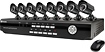Swann - Pro Series 8-Channel, 8-Camera Indoor/Outdoor Security System