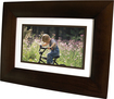 "HP - 7"" Widescreen LCD Digital Photo Frame - Dark Espresso"
