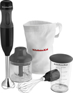 KitchenAid - 3-Speed Hand Mixer - Onyx Black