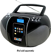 Jensen - Portable Docking CD Music System for Apple iPod