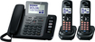 Panasonic - Cordless Phone - 190 GHz - DECT 60 - Black