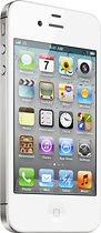 Apple - iPhone 4 with 8GB Memory - White (AT&T)