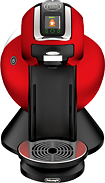 DeLonghi - Nescafe Dolce Gusto Creativa Plus Single-Serve Coffeemaker - Red