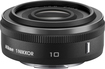 Nikon - 1 NIKKOR 10mm f/2.8 Wide-Angle Lens - Black