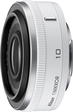 Nikon - 1 NIKKOR 10mm f/2.8 Wide-Angle Lens - White