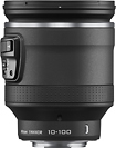 Nikon - NIKKOR 10-100mm f/45-56 VR PD Zoom Lens for Select Nikon 1 Cameras