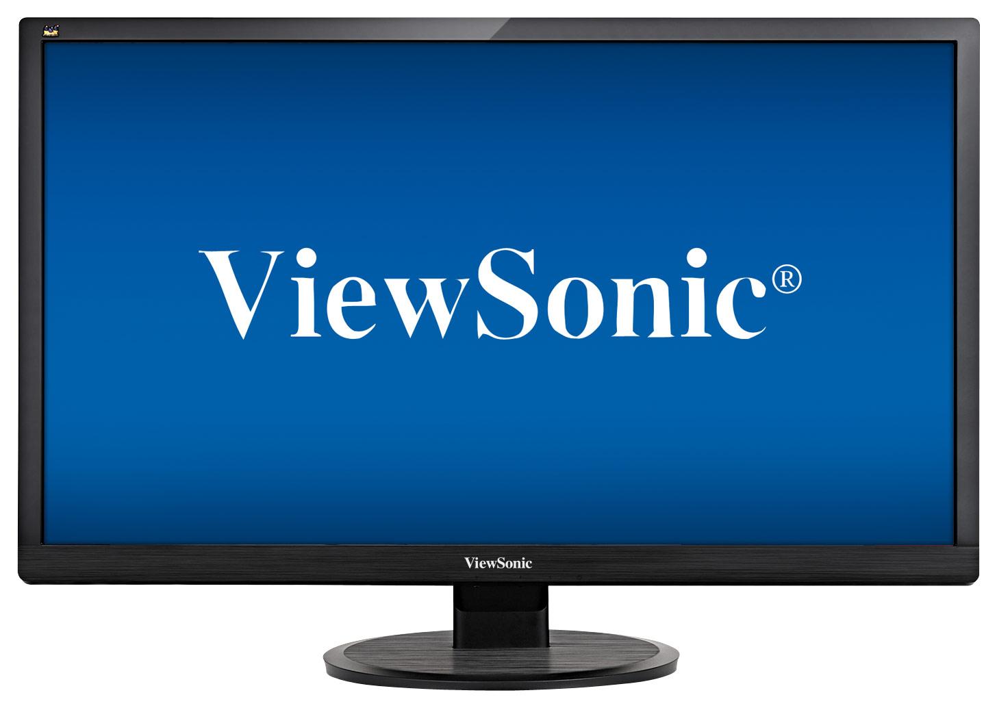 ViewSonic - 28 LED HD Monitor - Black