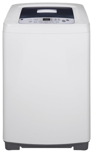GE - 2.6 Cu. Ft. 8-Cycle Compact Top-Loading Washer - White