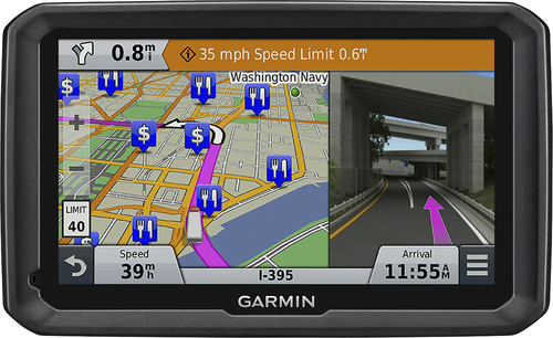 Garmin - dēzl 770LMTHD 7 GPS with Built-In Bluetooth, Lifetime Map Updates and Lifetime Traffic Updates - Black