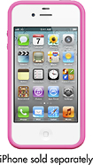Apple Bumper for Apple iPhone 4 and iPhone 4S - Pink