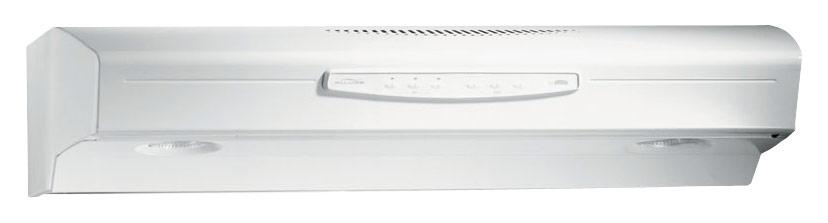 Broan - Allure II 30 Convertible Range Hood - White-on-White