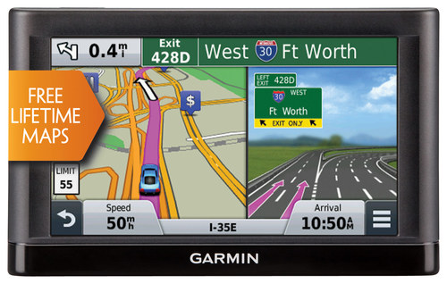 Garmin - nüvi 56LM 5 GPS with Lifetime Map Updates - Black
