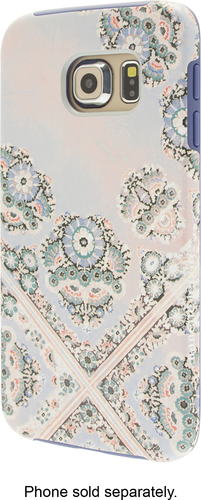 Nanette Lepore - Floral Scarf Case for Samsung Galaxy S6 edge Cell Phones - Multi
