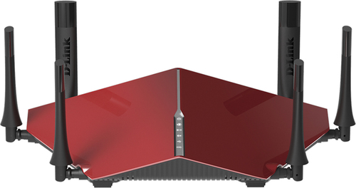 D-Link - AC3200 Ultra Wireless-AC Wi-Fi Router - Red