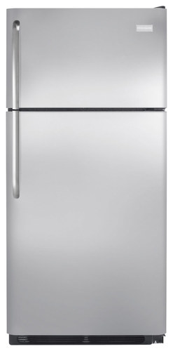 Frigidaire - 18.0 Cu. Ft. Top-Freezer Refrigerator - Stainless Steel (Silver)