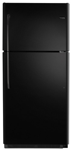 Frigidaire - 20.5 Cu. Ft. Top-Freezer Refrigerator - Ebony