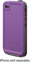 LifeProof - Case for Apple iPhone 4 and 4S - Purple