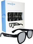 RealD - 3D Glasses (4-Pack) - Black
