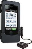 Wahoo Fitness - Bike Pack for Apple iPhone 3G, 3GS, 4 and 4S - Black