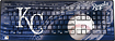 Pangea Brands - Keyscaper Kansas City Royals Wireless Keyboard