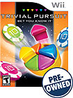 Trivial Pursuit: Bet You Know It - PRE-OWNED - Nintendo Wii