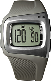 Mio - Motiva Series Sport Watch Heart Rate Monitor - Black