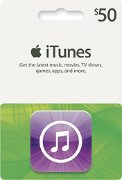 BestBuy - Apple - $50 iTunes Gift Card for $42.50 - $42.50